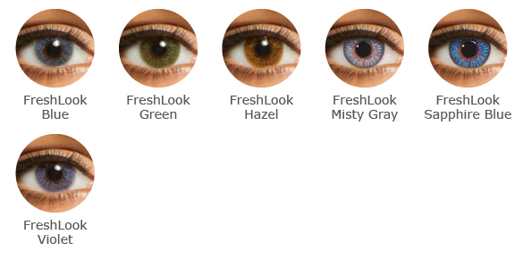 FreshLook Colors Farbauswahl
