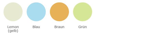Lunelle Couleur Farbübersicht